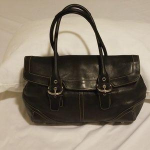 Coach black Soho Hobo leather bag